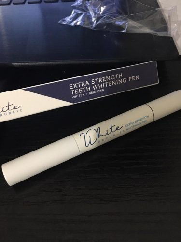 Extra Strength Teeth Whitening Pen photo review
