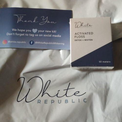 White Republic Charcoal Floss photo review
