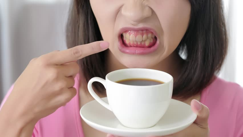 COFFEE TOOTH STAIN
